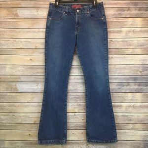 WOMEN'S LEVIS BOOT CUT JEANS SIZE 8